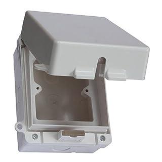 Aqualine Steckdosenbox für den Außenbereich, wetterfest, wasserdicht