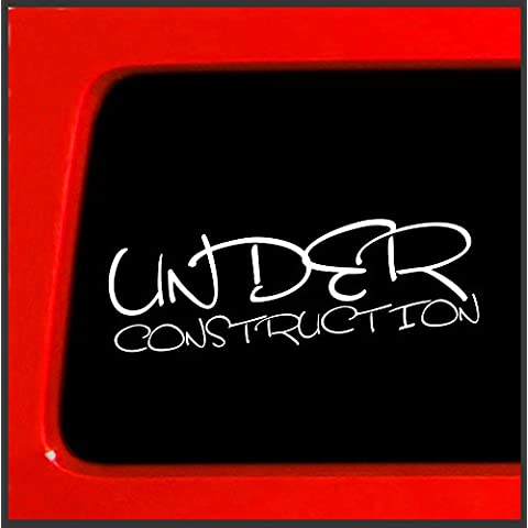 Under Construction build JDM Ill adesiva, motivo Graffiti abbassati Drift