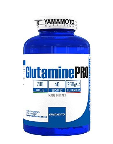 Glutamine PRO Kyowa® Quality integratore alimentare di Glutammina 200 compresse