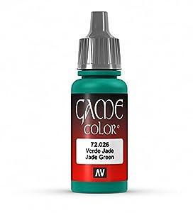 VALLEJO-3072026 72026 Vallejo Game Color Verde Jade, Multicolor (3072026)