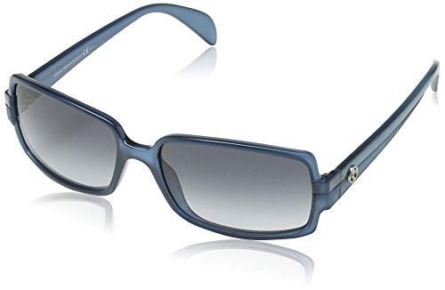 Giorgio Armani GA 759/S Wayfarer Sonnenbrille, Transparent Petral Frame / Gradient Grey