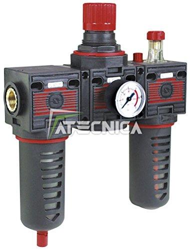 Gruppo modulare Fiac 920/11 composto da filtro più regolatore di