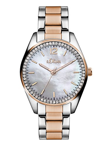 s.Oliver Time Damen-Armbanduhr SO-3319-MQ