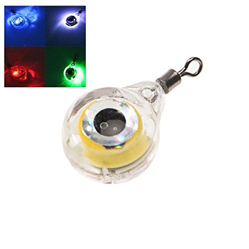 qingsb Unterwasserköder/Köder, 5 Farben, 1 Stück, merhfarbig -