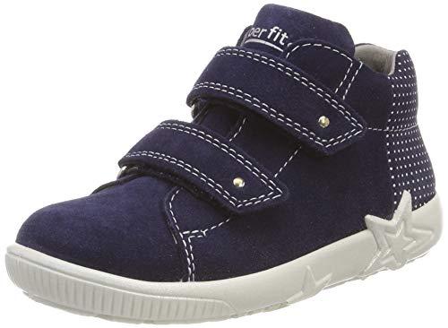 Superfit Baby Mädchen Starlight Sneaker Blau 80, 24 EU