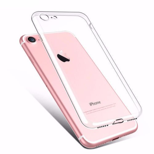Ultra Thin Transparent Soft Silicone Back Case Cover For Apple iPhone 7 / 7S  available at amazon for Rs.75