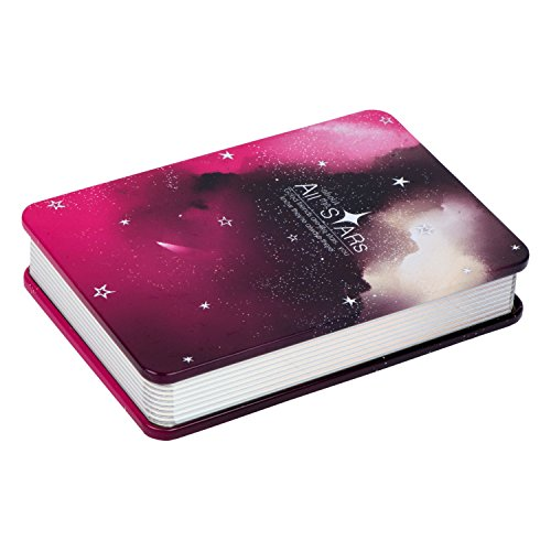 Gapuchi Tin Cover Kids Diary All About Stars Wine