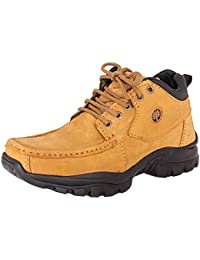Marshal Men's Tan Genuine Leather Casual Boots Shoes