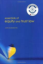 Essentials of Equity and Trusts Law by John Duddington (2006-07-20)