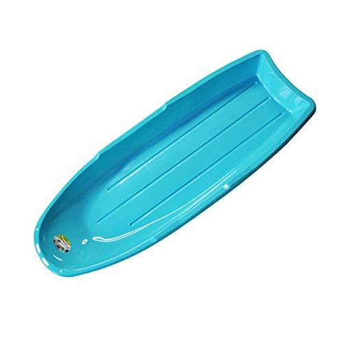 Xx-snow-sleds slitta da neve large plastic sledge slitta leggera blu con manico in corda