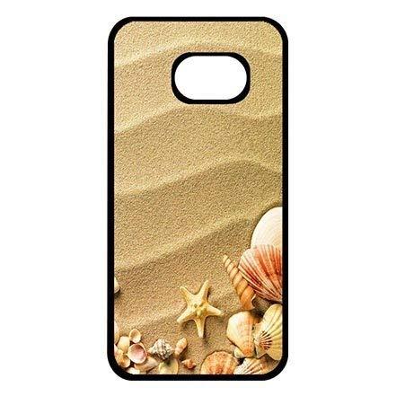 Cool Samsung Galaxy S7 Edge Hard Back Case Cover, Beach Theme Samsung S7 Edge Ultra Thin Cell Phone Casing for Boys
