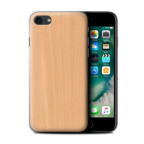Stuff4 Hülle / Hülle für Apple iPhone 5C / Nussbaum Muster / Holz/Holzmaserung Muster Kollektion Buche