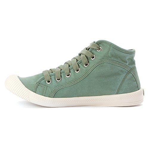 PALLADIUM Chaussures - Sneaker FLEX LACE MID - hedge green Vert
