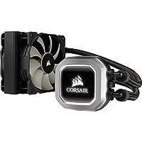 Corsair Hydro H75Système de Refroidissement à Liquide pour CPU, Radiateur de 120mm, Double Ventilateur, Noir