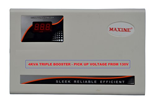 Maxine 4kva Triple Booster AC Stabilizer - Pick Up From 130v