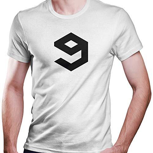 9GAG T-Shirt Fan Edition Rember The 5th of November Größe XS-4XL Ideales Geschenk (L, Weiß) -