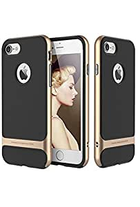 Rock Royce Series Golden TPU Mobile Back Case For iPhone 7Plus