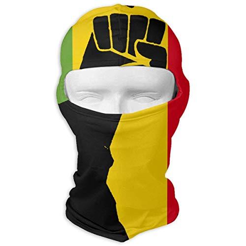 Jxrodekz African Black Power Anti Dust Gesichtsmasken für Männer, Frauen, Outdoor-Sport Tuff-dome