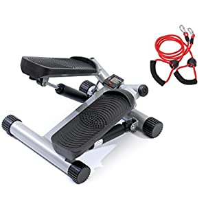 SportPlus SP-MSP-001 Side Stepper mit Trainingsbändern