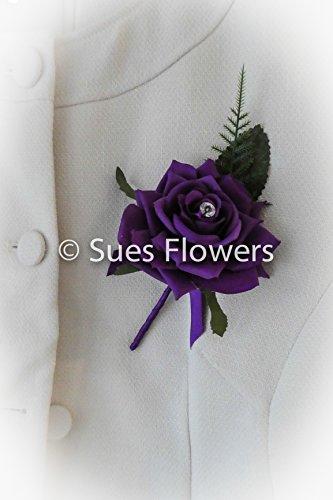 set-of-6-beautiful-cadburys-purple-buttonholes