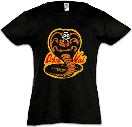 41YHMNI%2BGQL - Camiseta retro negra para niñas