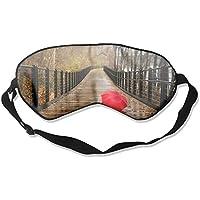 Eye Mask Eyeshade Red Umbrella Bridge Sleeping Mask Blindfold Eyepatch Adjustable Head Strap preisvergleich bei billige-tabletten.eu