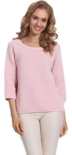Merry Style Damen Pullover 1972R (Puderrosa)