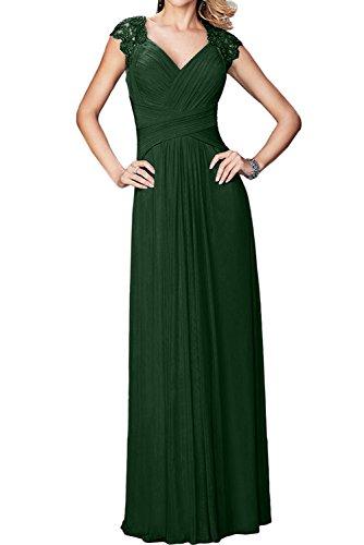 Ivydressing -  Vestito  - linea ad a - Donna Dunkelgruen