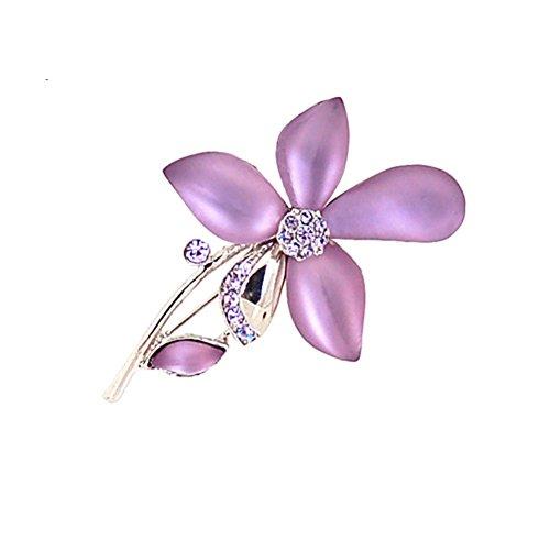 La versione coreana del magnifico il corpetto di Tulip/ Lady spilla/Cristallo strass spilla pin/accessori donna-C