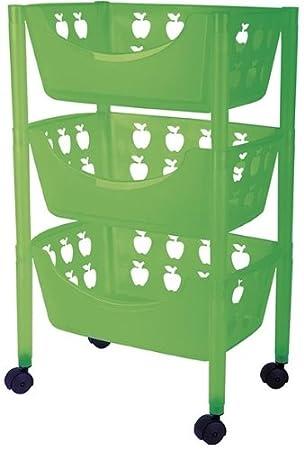 Big Badezimmer Trolley / Badezimmer Rollwagen Kunststoff In Verschiedenen  Farben (grün)