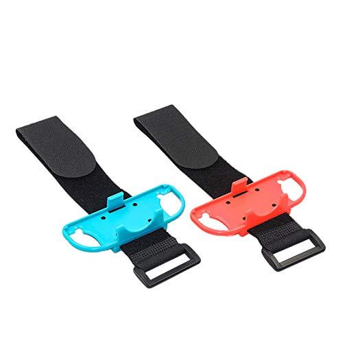 REFURBISHHOUSE 1 Paar Einstellbare Elastisch Dance Handgelenk Band Gurt Armband für Nintend Schalter Just Dance Joy-Con Controller -