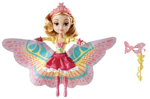 st 2-In-1 Costume Surprise Amber Butterfly Dress Doll by Mattel (Hit Girl Kostüm 2)