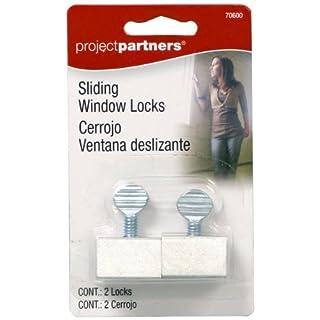 Project Partner 70600 Window Locks, 2-Pack by Allied International