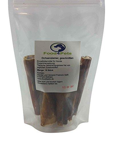 Kausnacks für Hunde Mix 2 – Ochsenziemer,Geflügelmägen,Rindernackensehne und Dörrfleisch Mix – im praktischen wiederverschließbaren Beutel - 3