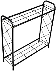D&V ENGINEERING - Creative in innovation Metal 2 Tier Rack Type Plant Stand/Pot Stand for Living Room or G