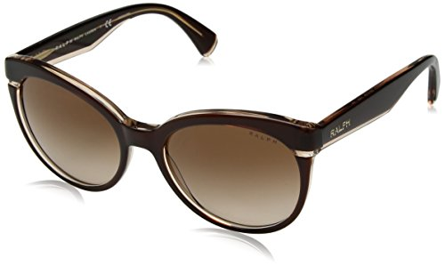 Ralph 0ra5238 169713, occhiali da sole donna, marrone (brown beige/browngradient), 55
