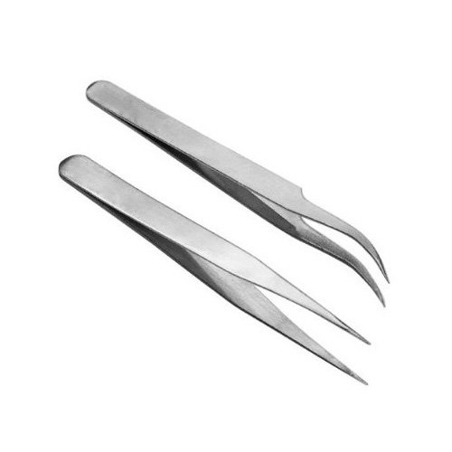 SODIAL(TM) 2 X Pincette Mini pince Outil pour la d¨¦coration des ongles