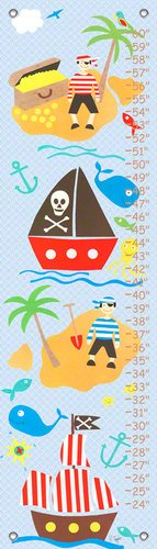 Oopsy Daisy Collage (Oopsy daisy Collage Pirate Boys Growth Chart by Rachel Taylor, 12 by 42 Inches)