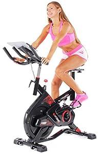 Miweba Sports Indoor Cycling MS300 Fitnessbike - 13 Kg Schwungmasse -...