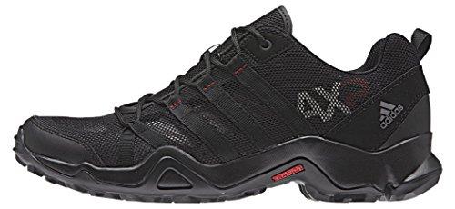 adidas Ax2 Breeze, Chaussures de Sport Homme Noir / Rouge (Negbas / Rojpot / Granit)