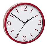 TFA 60.3033.01-Orologio da Parete elettronico, 200mm Rosso