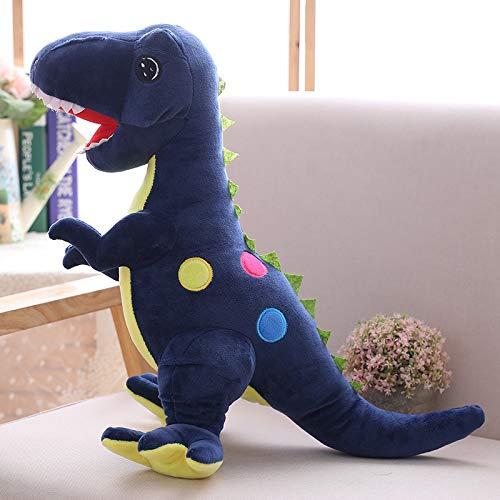 Amerikanische Blau-kissen (ZYYJG Ornamente Kreative Simulation 3D Dinosaurier Puppe Plüschtier Kissen Blauer Dinosaurier 50cm)