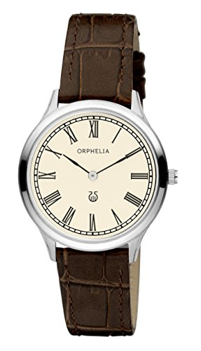 Orphelia Damen-Armbanduhr Lavardin Analog Quarz Leder 11601