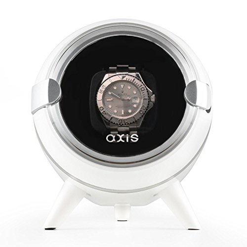 41YHVUPoPDL - NO.1 WATCH WINDER Best buy review AXIS® Single Automatic Watch Winder White AXW090W New For 2016 Review