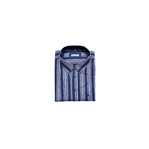 Camicia Uomo Taglie Forti Blu e Azzurro Ostiense
