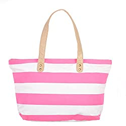 Osaiz Pink Canvas Shoulder bag (1PI561OSN)