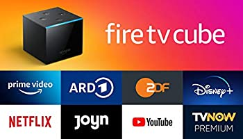Fire TV Cube│Hands-free mit Alexa, 4K Ultra HD-Streaming-Mediaplayer