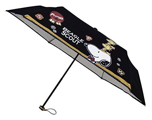 snoopy-ombrello-pieghevole-per-pioggia-e-sole-uv-cut-98-snoopy-beagle-scout-nero-japan-import-98031