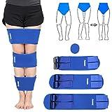 Beine Körperhaltung Korrektor justierbar, 3 Teile/satz O/X Beine Korrektur Brace Bands Klopfen Knie Bowlegs Richt Verband Gürtel Kit für Kinder und Erwachsener