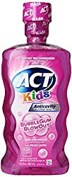 ACT Kids Anticavity Fluoride Rinse, Bubble Gum Blow Out 16.9 oz